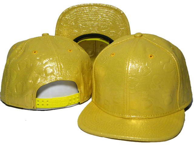 Yellow Snapback Hat DD